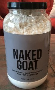 naked goat protein powder, Nutrition awareness, orlando dietitian