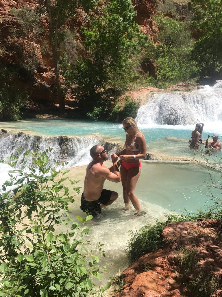 engagement at havasu falls
