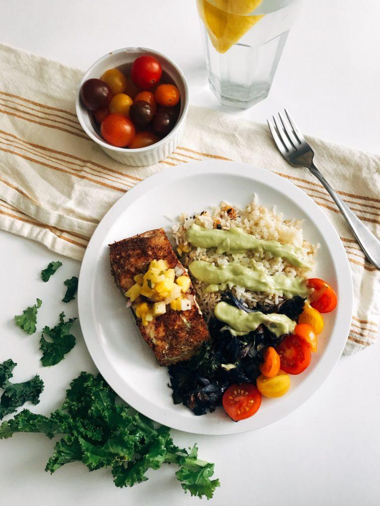 plated taco healthy recipe