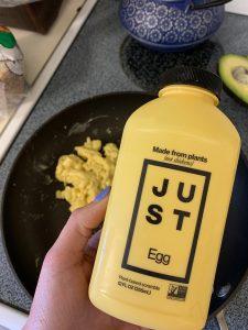 vegan egg product